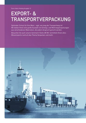 expOrt- & transpOrtverpackung - Evers GmbH