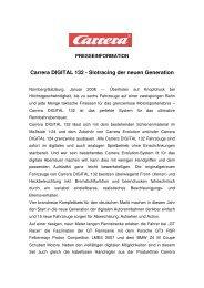 Carrera DIGITAL 132 - Slotracing der neuen Generation (Jänner