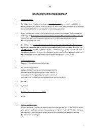Nachunternehmerbedingungen (PDF) - Lindner Group