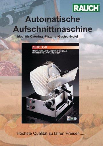 Automatische Aufschnittmaschine