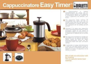 Cappuccinatore Easy Timer ® - Bialetti