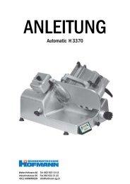 Automatic H 3370 - Hofmann AG, Langenthal