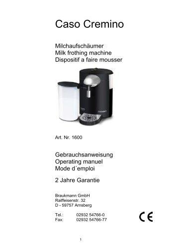 Caso Cremino - CASO-Germany