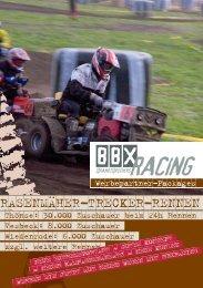 RASENMÄHER-TRECKER-RENNEN - BBX-Racing