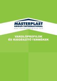 Vakolóprofilok és kiegészítők - Masterplast