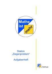 Aufgabenheft - Didaktik der Mathematik (Sekundarstufen)