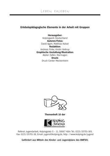 Innenseiten TH10/01 - Kolpingjugend - Kolpingwerk Deutschland