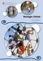Bewegte Schule - Ministère de l'éducation nationale et de la ...