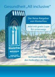 "Gesundheit ""All inclusive"" - Klosterfrau"