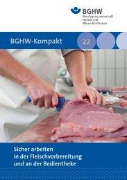 M 022 Sicher arbeiten in der Fleischvorbereitung - Medienangebot ...