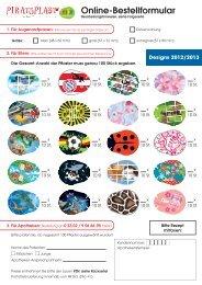 AUS-PIRA-005572 Online-Bestellformular ab Mix ... - Piratoplast