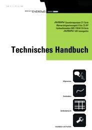 Technisches Handbuch D1 Modelle - Berndt-Enersys