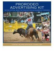 prorodeo advertising kit - Professional Rodeo Cowboys Association