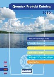 2010 Quantex Produkt Katalog