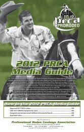 01 Intro01-40.indd - Professional Rodeo Cowboys Association