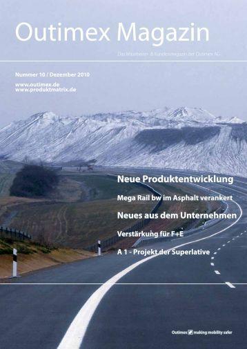 Outimex Magazin 10/2010 (882.34 kB) - Saferoad RRS