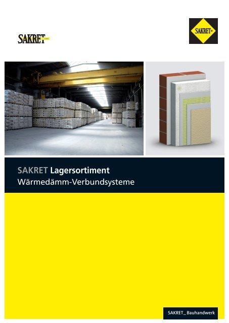 SAKRET Lagersortiment - SAKRET GmbH