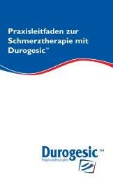 Praxisleitfaden zur Schmerztherapie mit Durogesic™