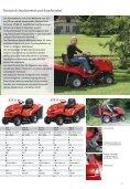 Aufsitzmäher und Rasentraktoren die bequemste und komfortabelste - Seite 4