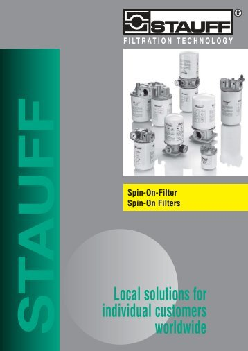 filtration technology - Stauff