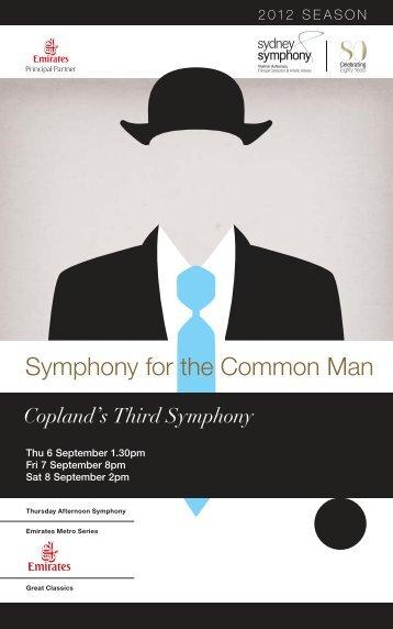 Symphony for the Common Man - Sydney Symphony Orchestra