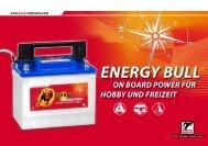 Banner Energy Bull Serie - sun-enertec
