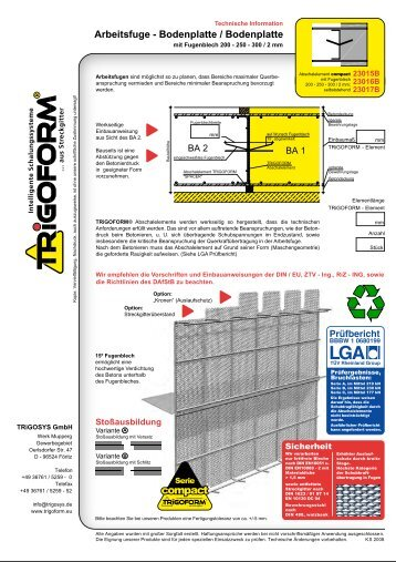 compact - TRiGOSYS GmbH