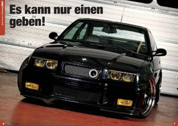 BMW E36 M3 3.0 T uning