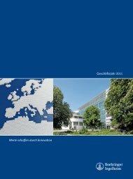 Geschäftsjahr 2011 PDF (1,41 MB) - Boehringer Ingelheim Annual ...