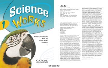 Science Works 1 Student Book CD-ROM - The Marlborough Science ...