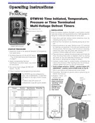 DTMV40 manual - Water Heater Timers Save Money