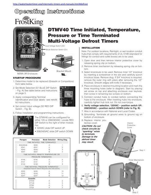 Dtmv40 Manual
