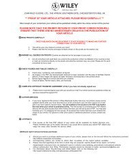 proof of your article attached, please read carefully - Stephen M ...