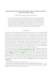 Small Time Heston.pdf - Institut für Mathematik - TU  Berlin