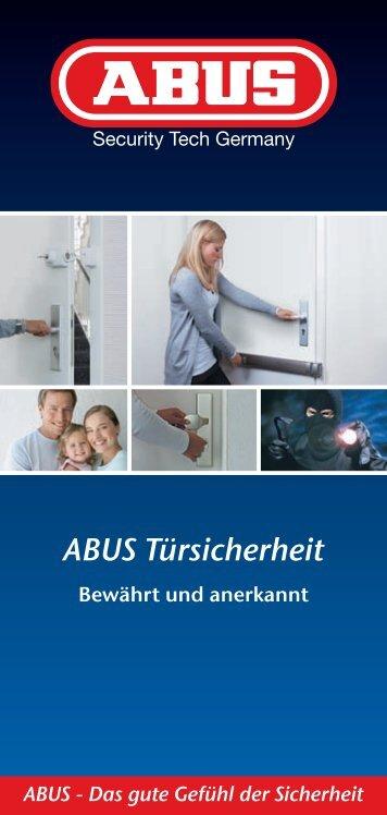 ABUS Fibel Türsicherheit - Sicherheitstechnik Tinnes