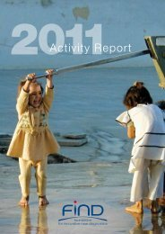 Download FIND activity report 2011 - Foundation for Innovative New ...