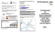 Anmeldung bitte schriftlich/Fax/E-Mail an das - IN VIA Akademie