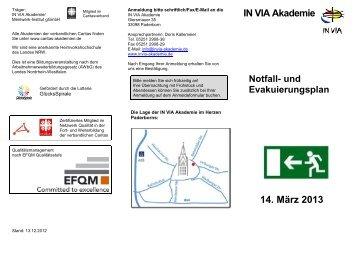 Evakuierungsplan