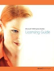 Microsoft OEM System Builder Licensing Guide - amazonis