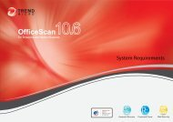 OfficeScan 10.6 System Requirements