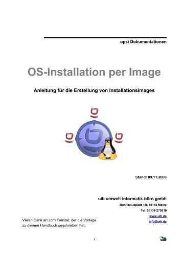 OS-Installation per Image - opsi Download - uib