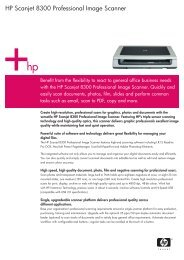 HP Scanjet 8300 Professional Image Scanner