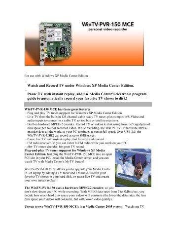 ADS Tech Instant TV Deluxe PCI IR Blaster Windows 8 X64