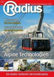 Radius Alpine Technologie 2010
