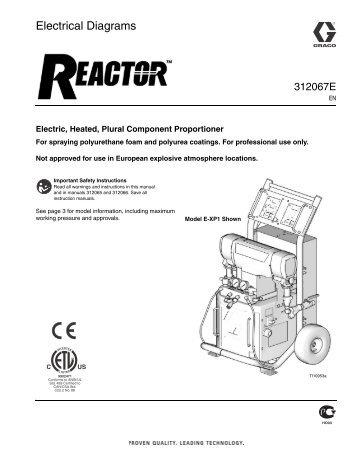 graco reactor electrical diagrams 312067c pdf sprayko rh yumpu com graco magnum x5 wiring diagram Wiring Diagram Symbols