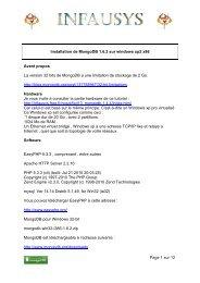 Page 1 sur 12 Installation de MongoDB 1.6.2 sur windows xp2 x86 ...