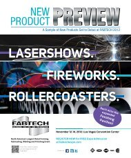 2012 New Product Preview - Fabtech
