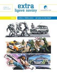 EXTRA ligové noviny   číslo 2   léto 2010   Policie a lidská práva - jak jsme na tom dnes?