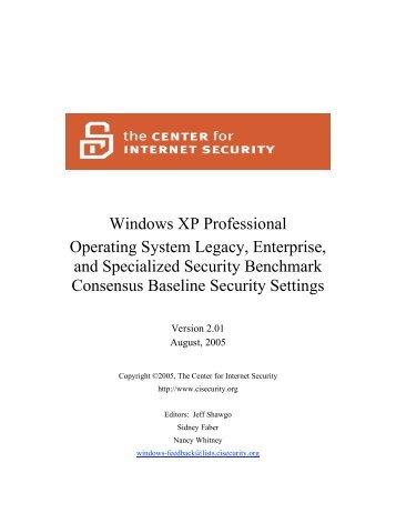 Windows XP Professional Operating System Legacy, Enterprise ...