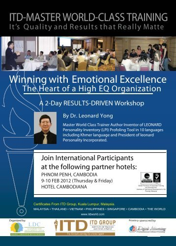 Leonard Yong, PhD. - Leadership and Development Center